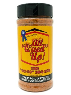 All Q'ued Up - The 'Go-To' BBQ Rub