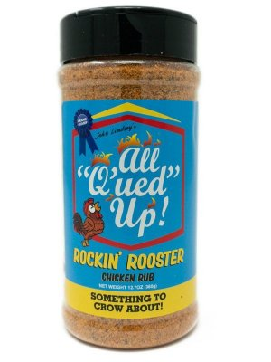 All Q'ued Up - Rockin' Rooster