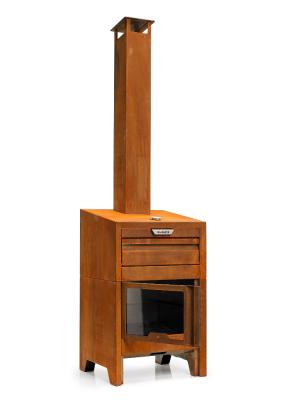 Braaimaster - FireOven Corten deur