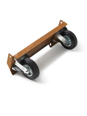 Braaimaster - FireOven Corten wielen