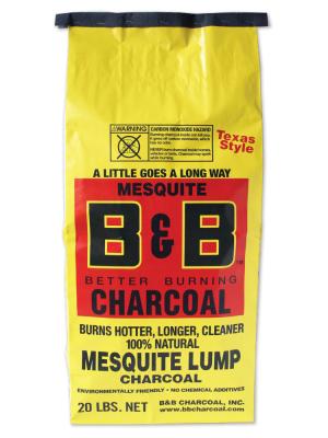 B&B - Mesquite Lump Charcoal - 20lb