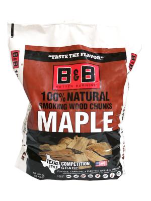 B&B - Maple Chunks - 9L