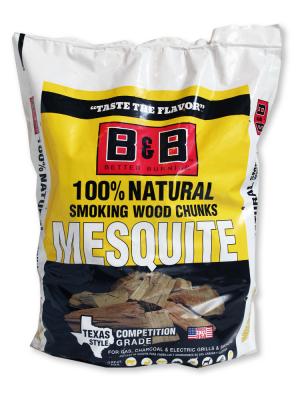 B&B - Mesquite Chunks - 9L