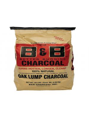 B&B - Oak Lump Charcoal - 20lb