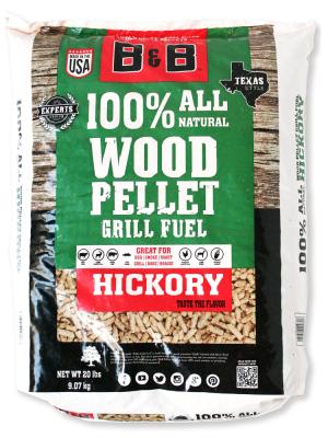 B&B - Hickory Pellets - 20lb