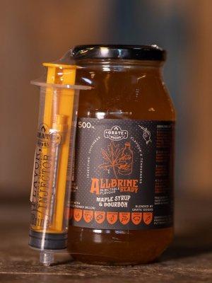 Grate Goods - Allbrine Ready Maple Syrup & Bourbon
