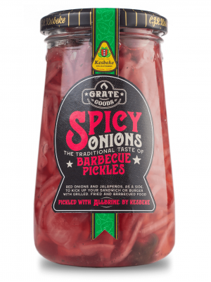 Grate Goods - Spicy Onions Barbecue Pickles