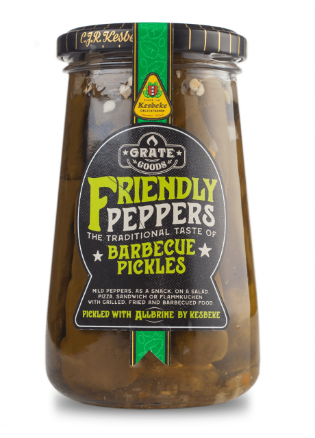 Grate Goods - Friendly Peppers Barbecue Pickles