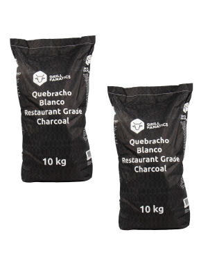 White Quebracho DEAL / 2 x 10kg - Gratis verzending