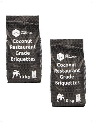 Kokosbriketten DEAL / 2 x 10kg - Gratis verzending