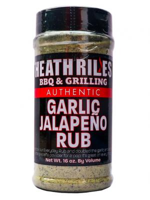 Heath Riles BBQ - Garlic Jalapeno Rub