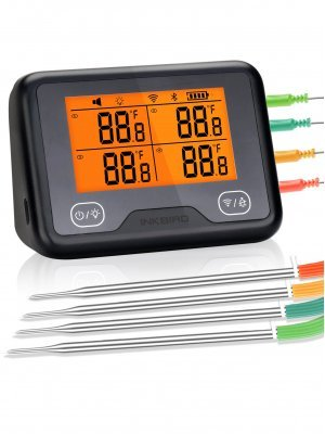 Inkbird - IBBQ-4BW WiFi/Bluetooth Digital Thermometer