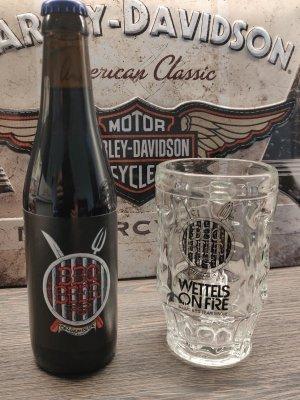 Wettels On Fire - BBQ Bier Glas 33cl