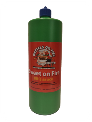 Wettels On Fire - Sweet on Fire LARGE