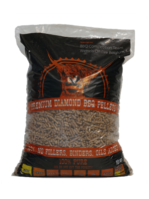 Wettels On Fire Premium Pellets - Apple