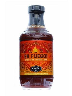 Plowboys BBQ - 'En Fuego' Spicy BBQ Sauce