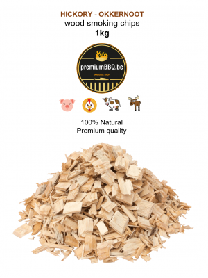 PremiumBBQ Smoking Chips - Hickory 1.0kg