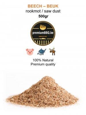 PremiumBBQ - Rookmot Beuk / Beech 0.5kg