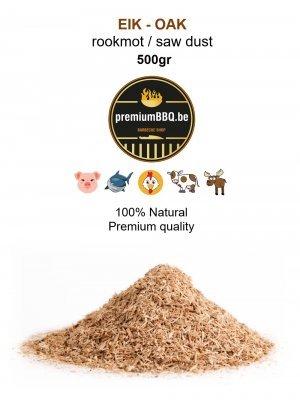 PremiumBBQ - Rookmot Eik / Oak 0.5kg