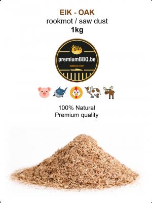 PremiumBBQ Rookmot - Eik / Oak 1.0kg