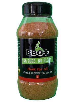 BBQ+ - Heat For All - 650gr
