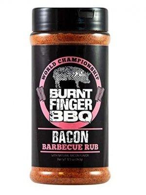 Burnt Finger BBQ - Bacon BBQ Rub - 12.1oz