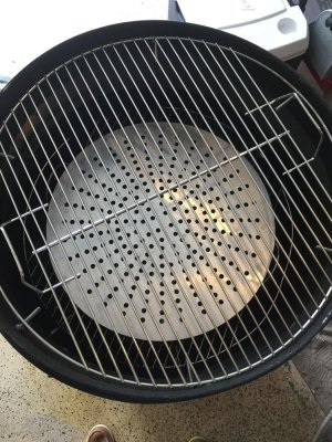 Gateway Drum Smoker - 55Gl - Cooking grate