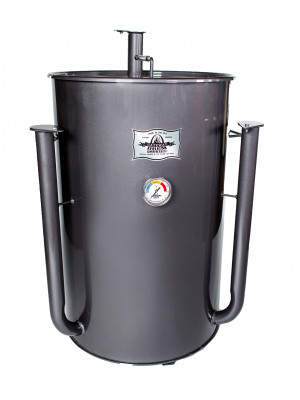 Gateway Drum Smoker - 55Gl - charcoal - WITH LOGO PLATE