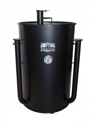 Gateway Drum Smoker - 55Gl - mat zwart - NO PLATE