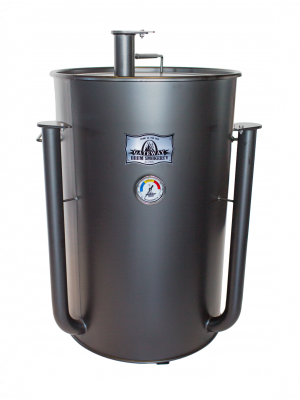 Gateway Drum Smoker - 55Gl - matte charcoal - NO PLATE