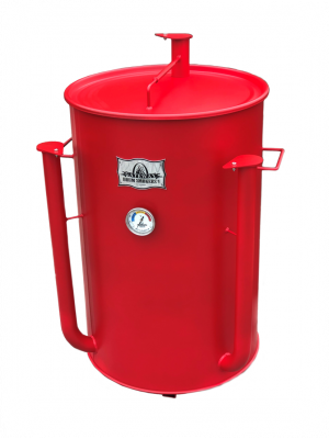 Gateway Drum Smoker - 55Gl - matte red - NO PLATE