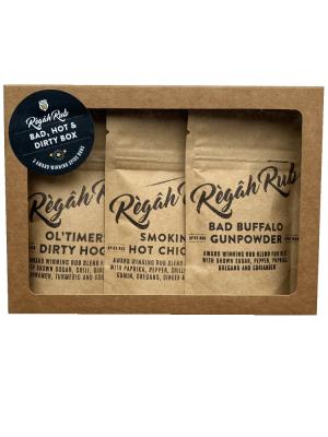 Règâh Rub - Bad, Hot & Dirty Box