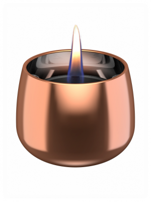 Tenderflame - Crocus Glass Rose Gold