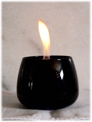 Tenderflame - Crocus Glass Black