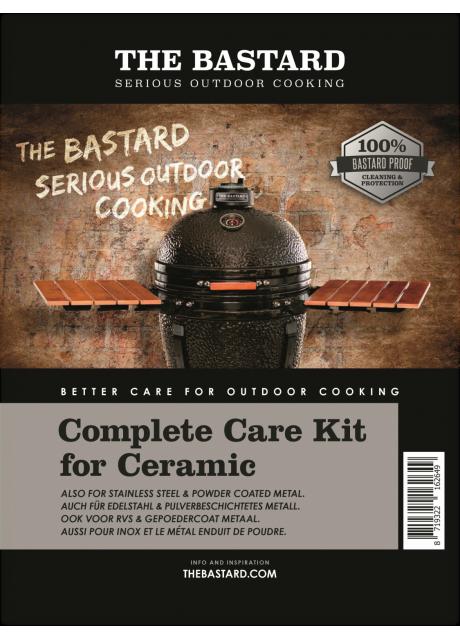 The Bastard - Ceramic Cleaner & Wax Polish Kit