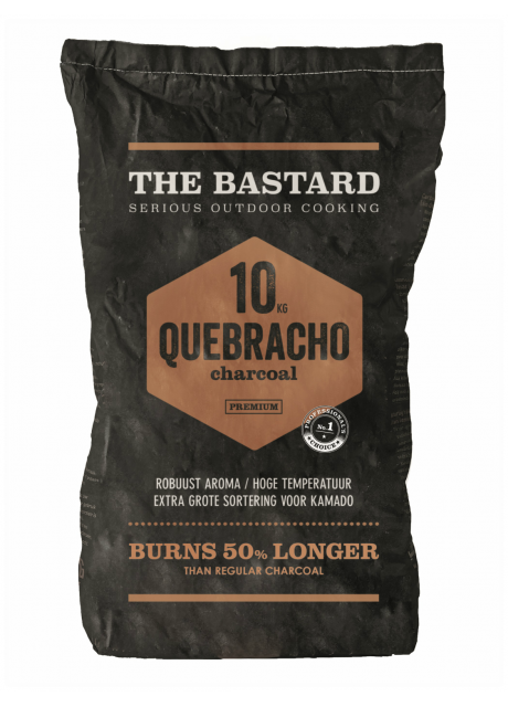 The Bastard - Charcoal Paraguay White Quebracho 10kg